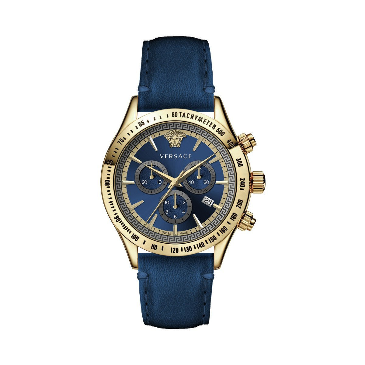 Versace Classic Chronograph Blue - Watches & Crystals