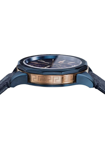 Versace Glaze Chronograph Blue - Watches & Crystals