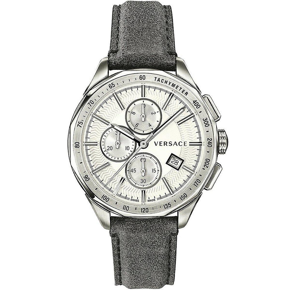 Versace Glaze Chronograph White - Watches & Crystals
