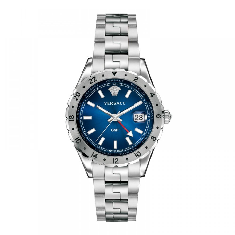 Versace Hellenyium GMT Blue - Watches & Crystals