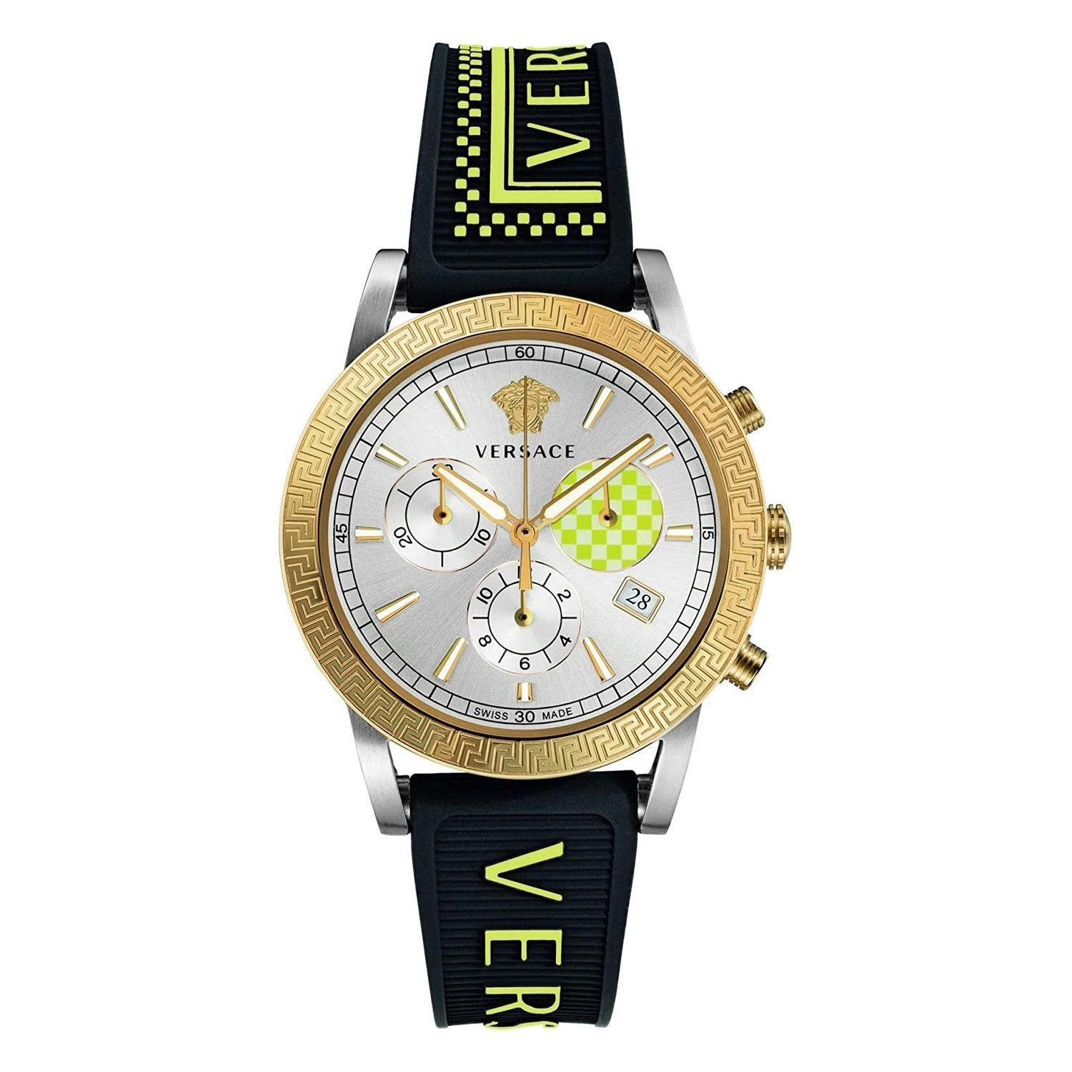 Versace Sports Tech Chronograph Silver - Watches & Crystals