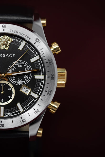 Versace Sporty Chronograph Black - Watches & Crystals