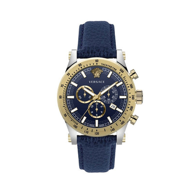 Versace Sporty Chronograph Blue - Watches & Crystals