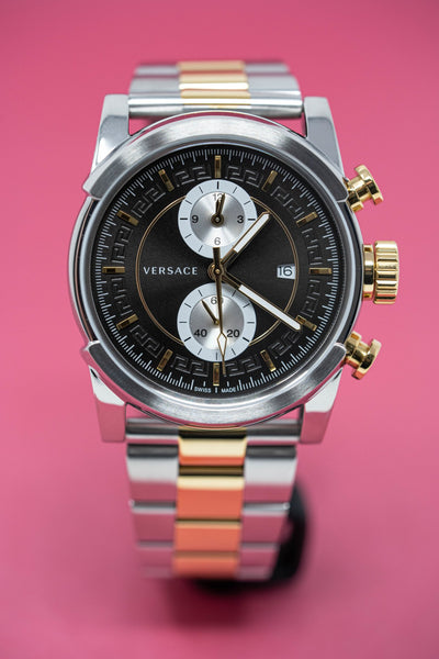 Versace Urban Chronograph Black - Watches & Crystals