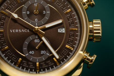 Versace Urban Chronograph Brown - Watches & Crystals