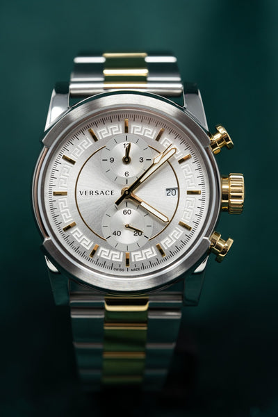 Versace Urban Chronograph Silver - Watches & Crystals
