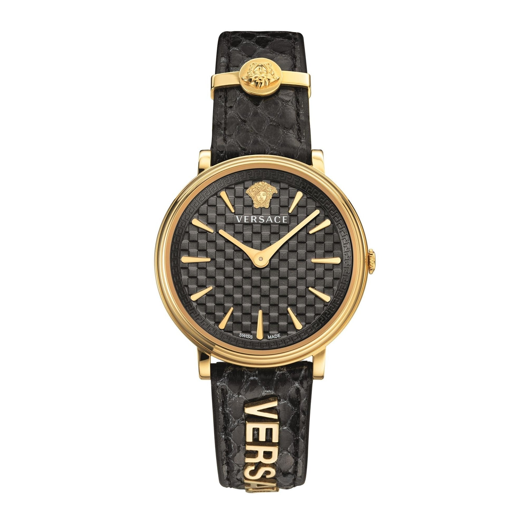 Versace V-Circle Black - Watches & Crystals