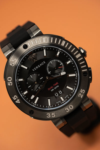 Versace V-Extreme GMT Black - Watches & Crystals