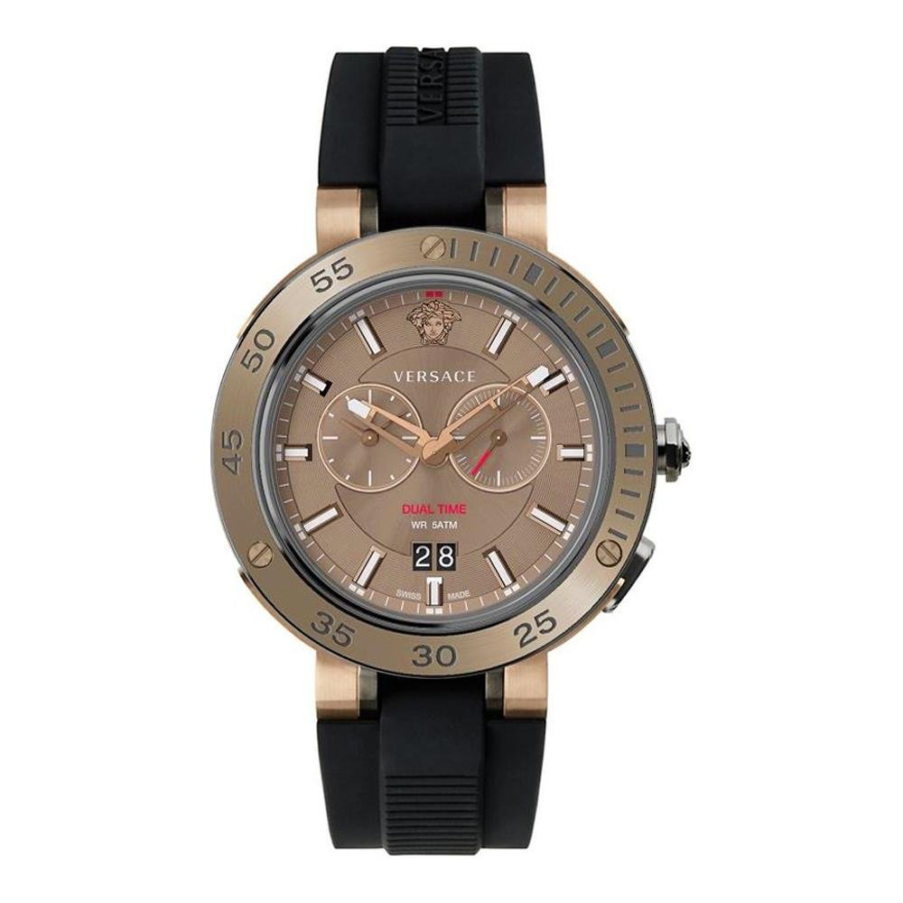 Versace V-Extreme GMT Brown - Watches & Crystals