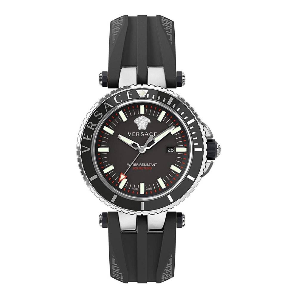 Versace V-Race Diver Black - Watches & Crystals