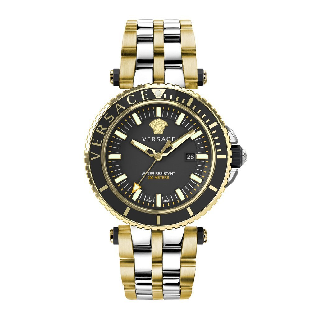 Versace V-Race Diver Two Tone