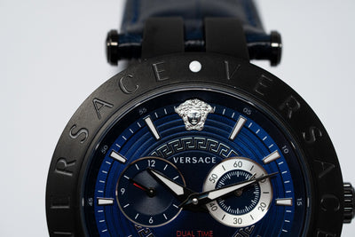 Versace V-Race GMT Blue - Watches & Crystals
