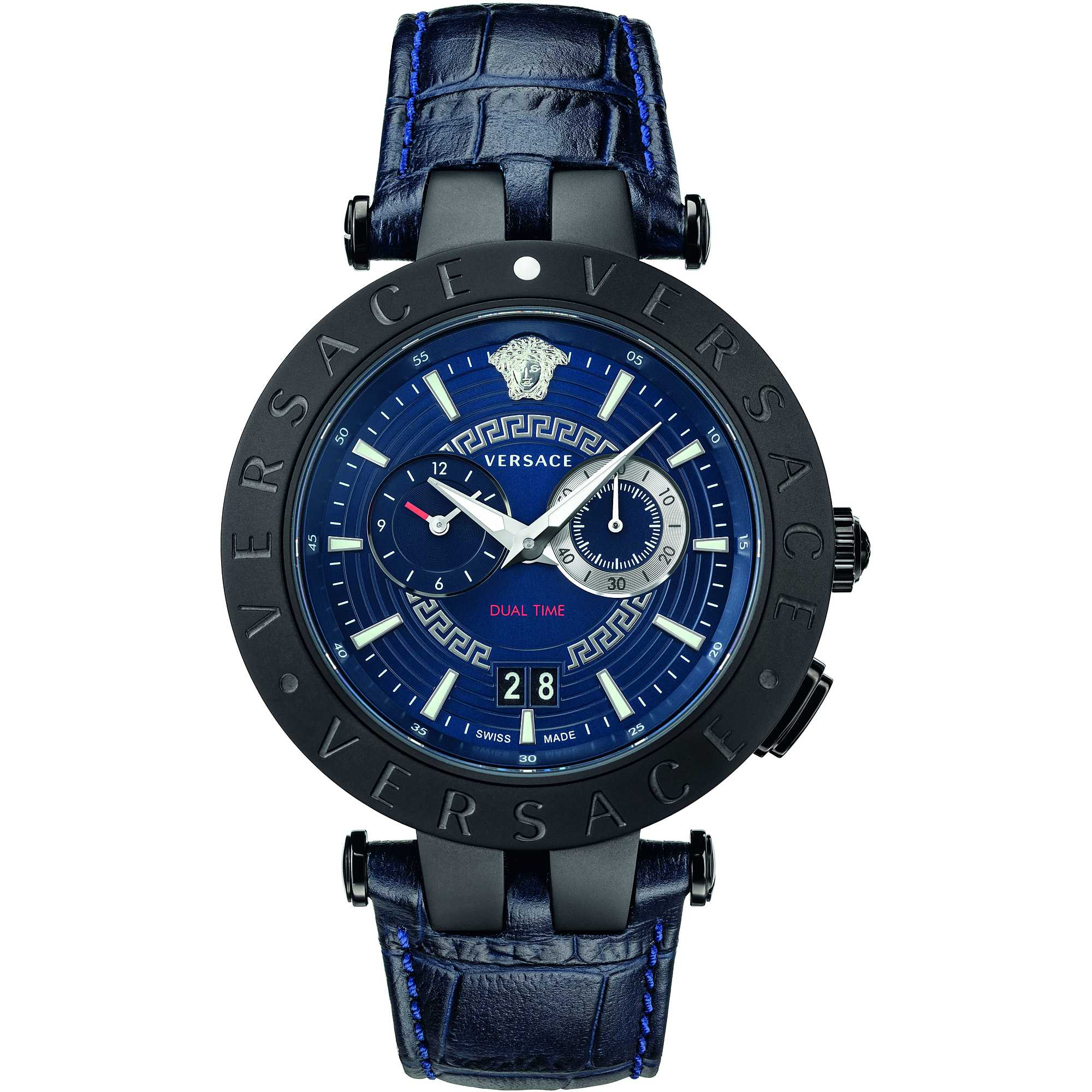Versace V-Race GMT Blue