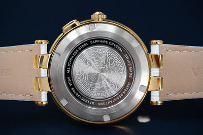 Versace V-Race GMT White - Watches & Crystals