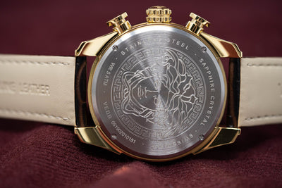 Versace V-Ray Chronograph IP Gold - Watches & Crystals