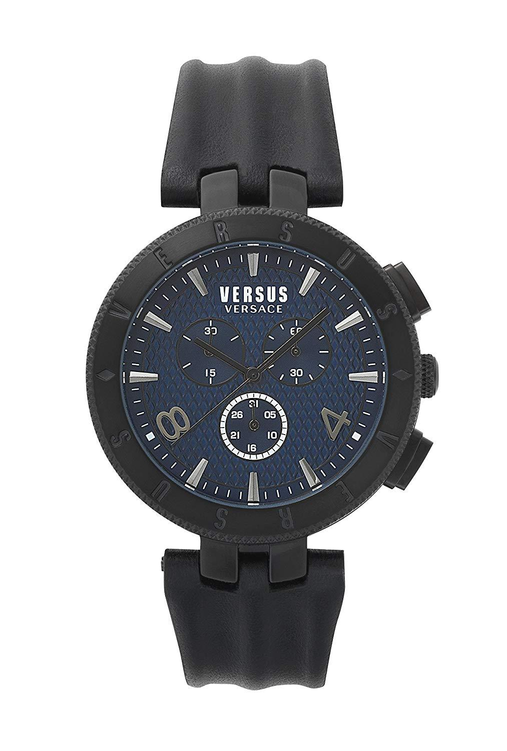 Versus Versace Logo Chronograph Black - Watches & Crystals