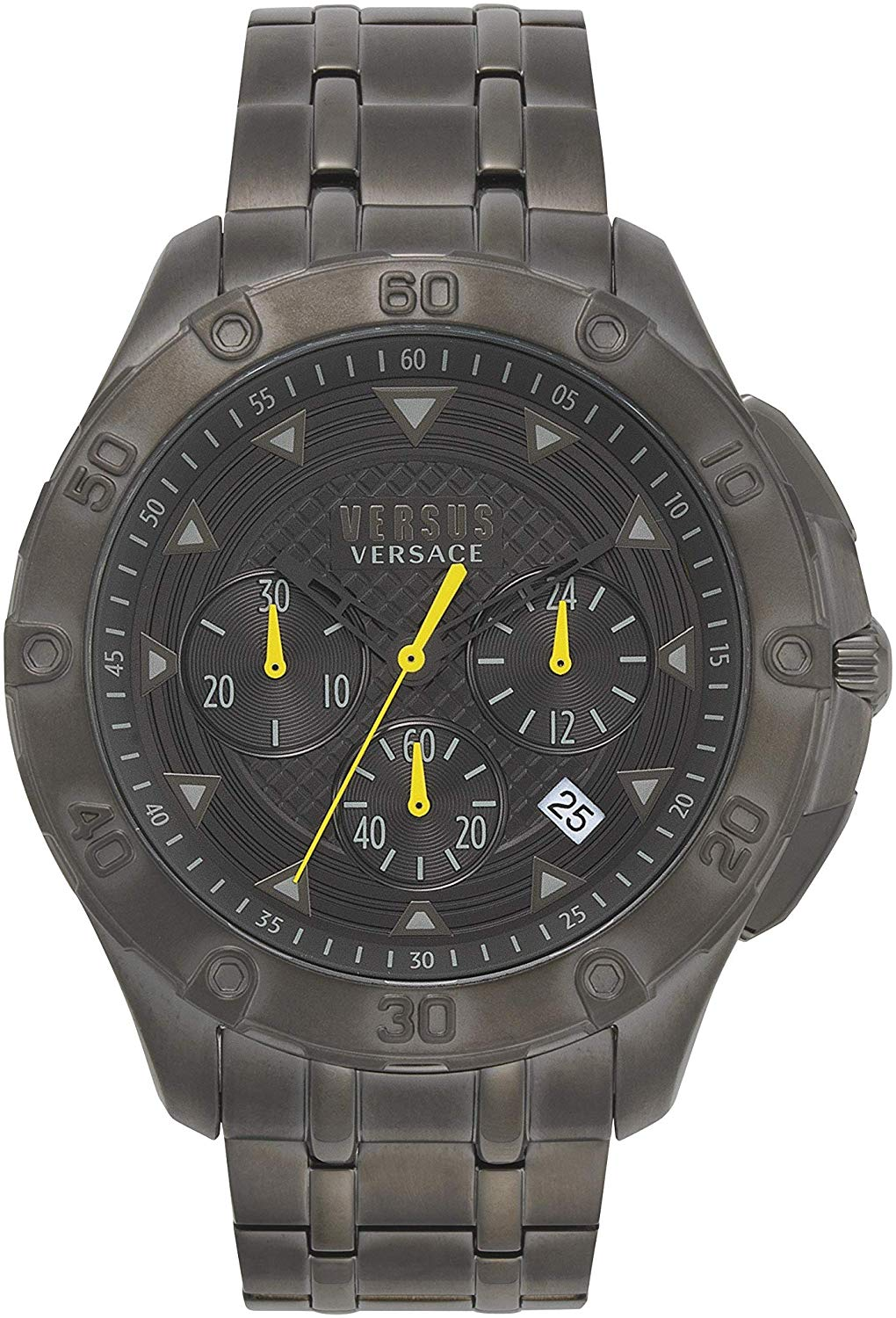 Versus Versace Simons Town Chronograph Steel - Watches & Crystals