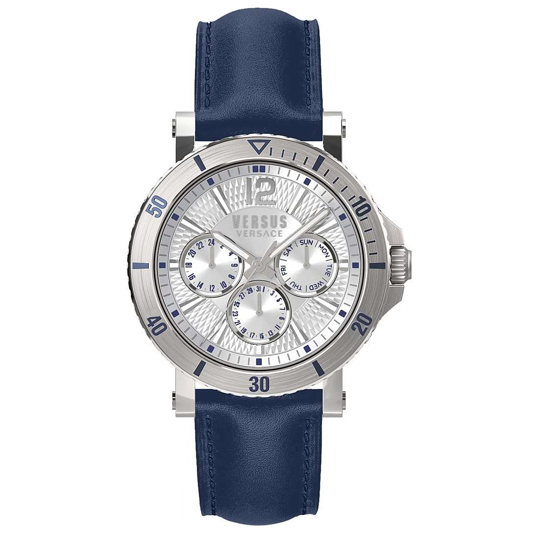 Versus Versace Steenberg Day & Date White - Watches & Crystals