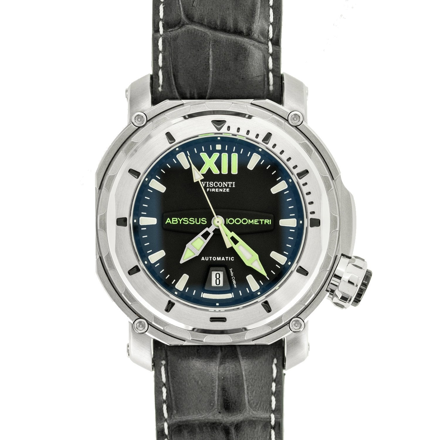 Visconti Full Dive Abyssus 1000M Diver Steel - Watches & Crystals