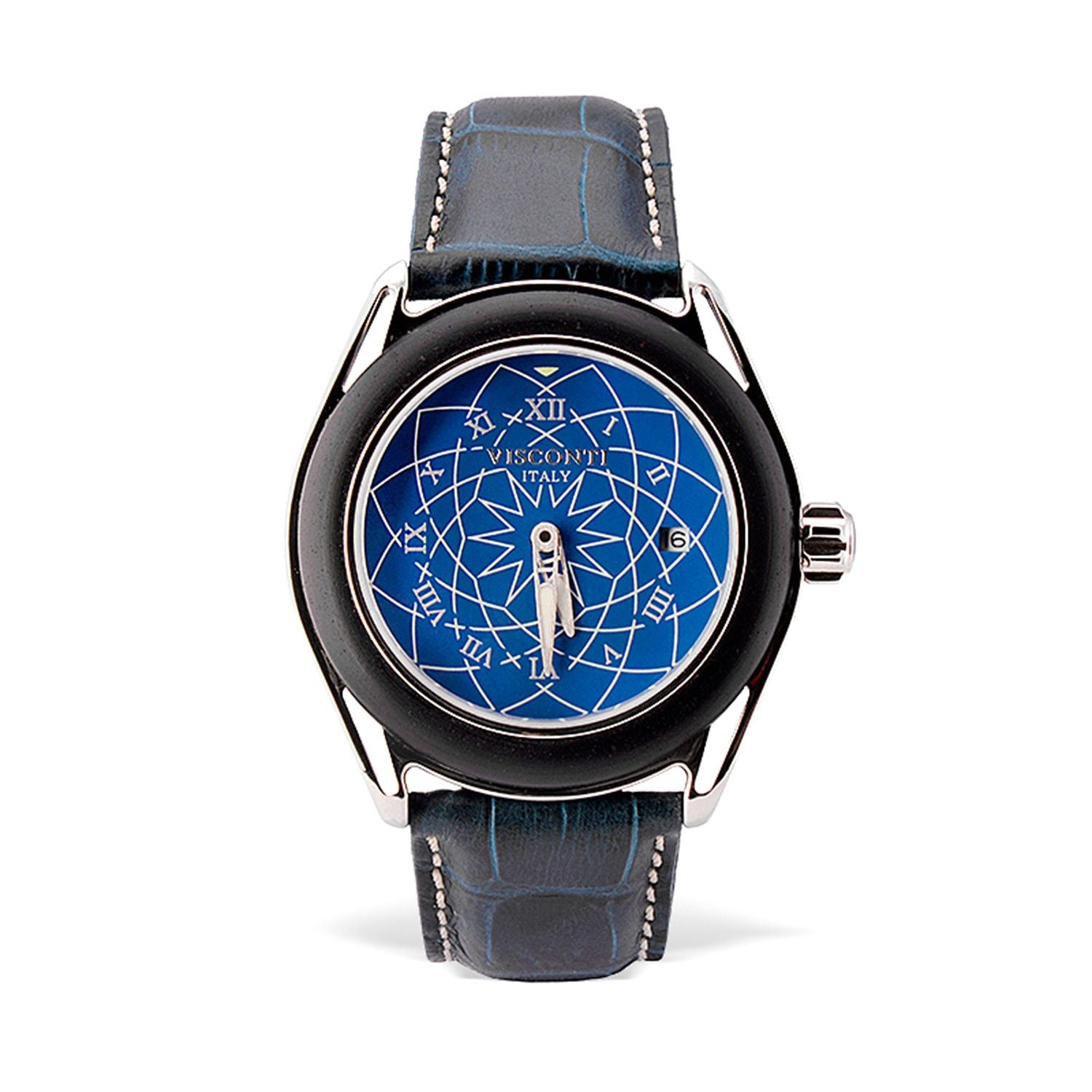 Visconti Lava Evolution Date Blue - Watches & Crystals