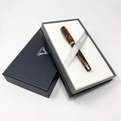 Visconti Medici Rollerball Pen Marrone Brown 804RLMS14+ - Watches & Crystals