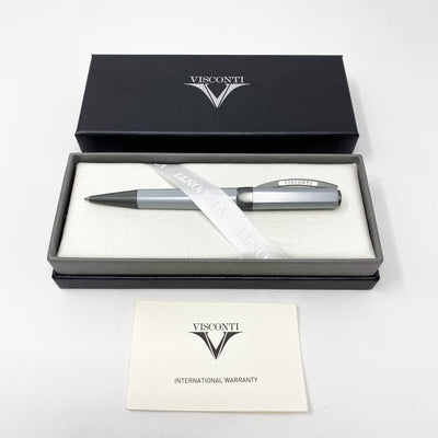 Visconti Opera Metal Ballpoint Pen Silver Shadow 738SF00+ - Watches & Crystals