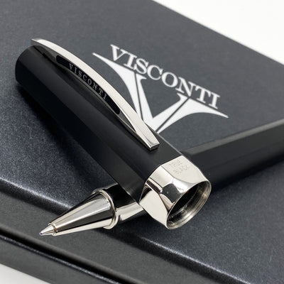 Visconti Opera Metal Rollerball Pen True Black 738RL04+ - Watches & Crystals