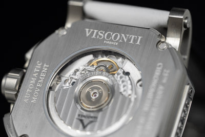 Visconti Speed Boat Completo Chronograph White Limited Edition - Watches & Crystals