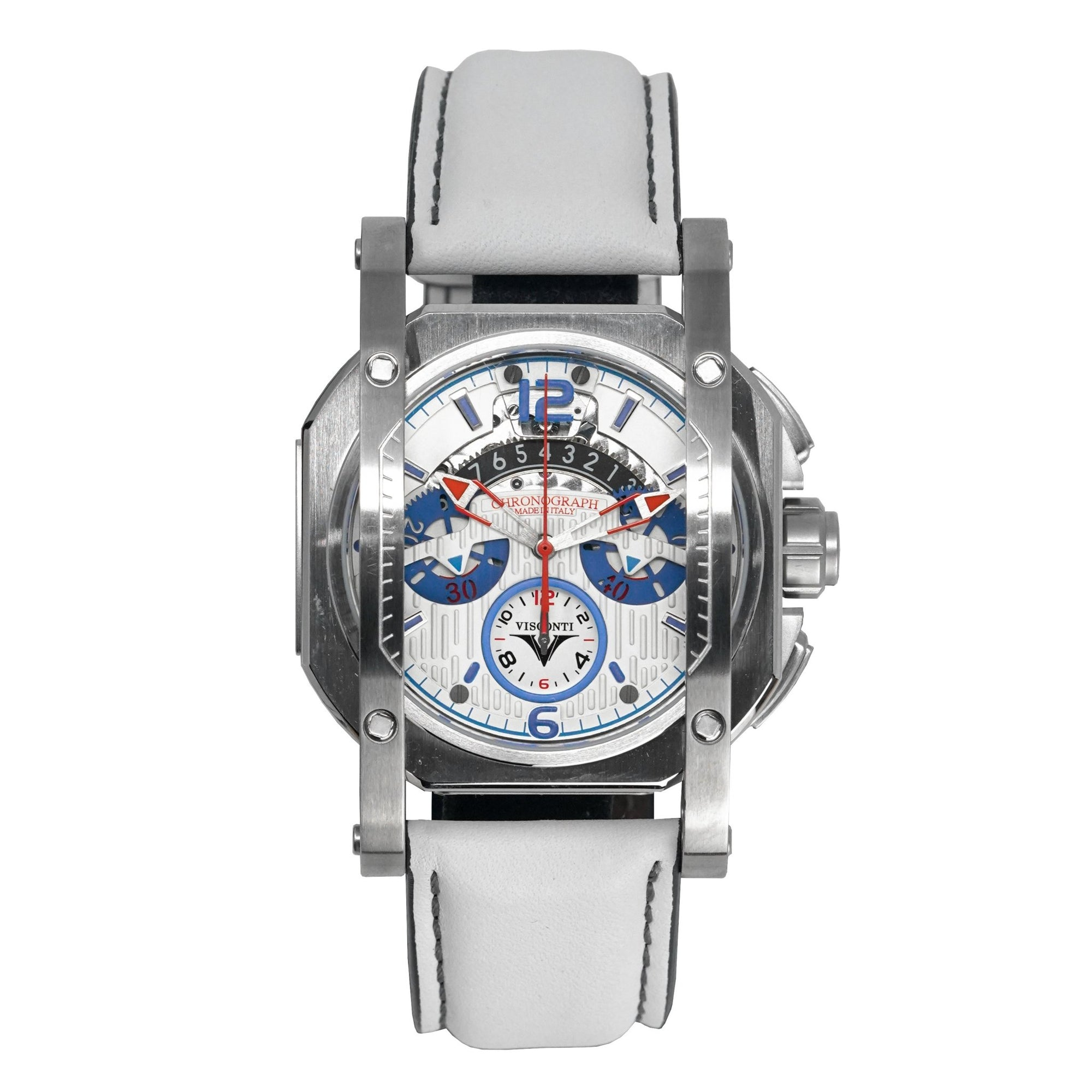Visconti Speed Boat Completo Chronograph White Limited Edition
