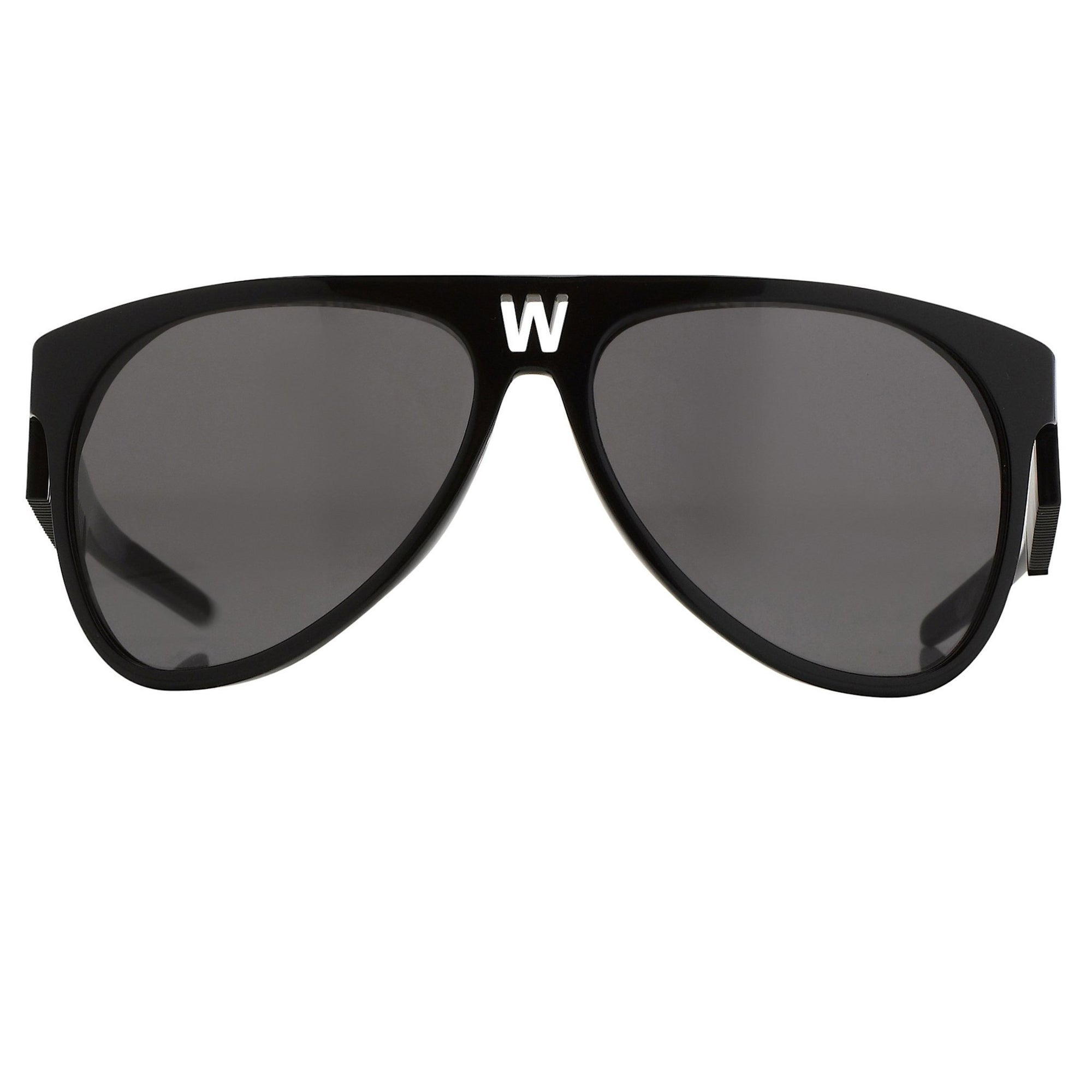 Walter Van Beirendonck Sunglasses Black and Grey Lenses - WVB4C1SUN - Watches & Crystals