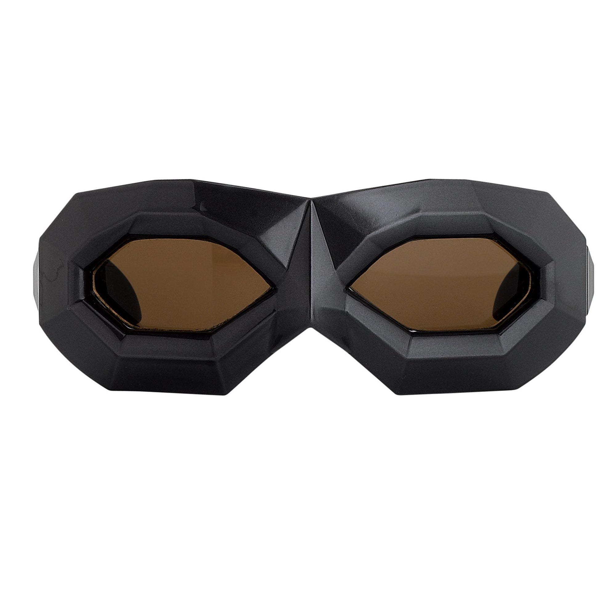 Walter Van Beirendonck Sunglasses Special Frame Dark Grey and Dark Brown Lenses - WVB2C9SUN - Watches & Crystals