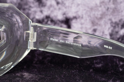 Walter Van Beirendonck Sunglasses Special Frame Shiny Clear and Clear Lenses - WVB2C2SUN - Watches & Crystals