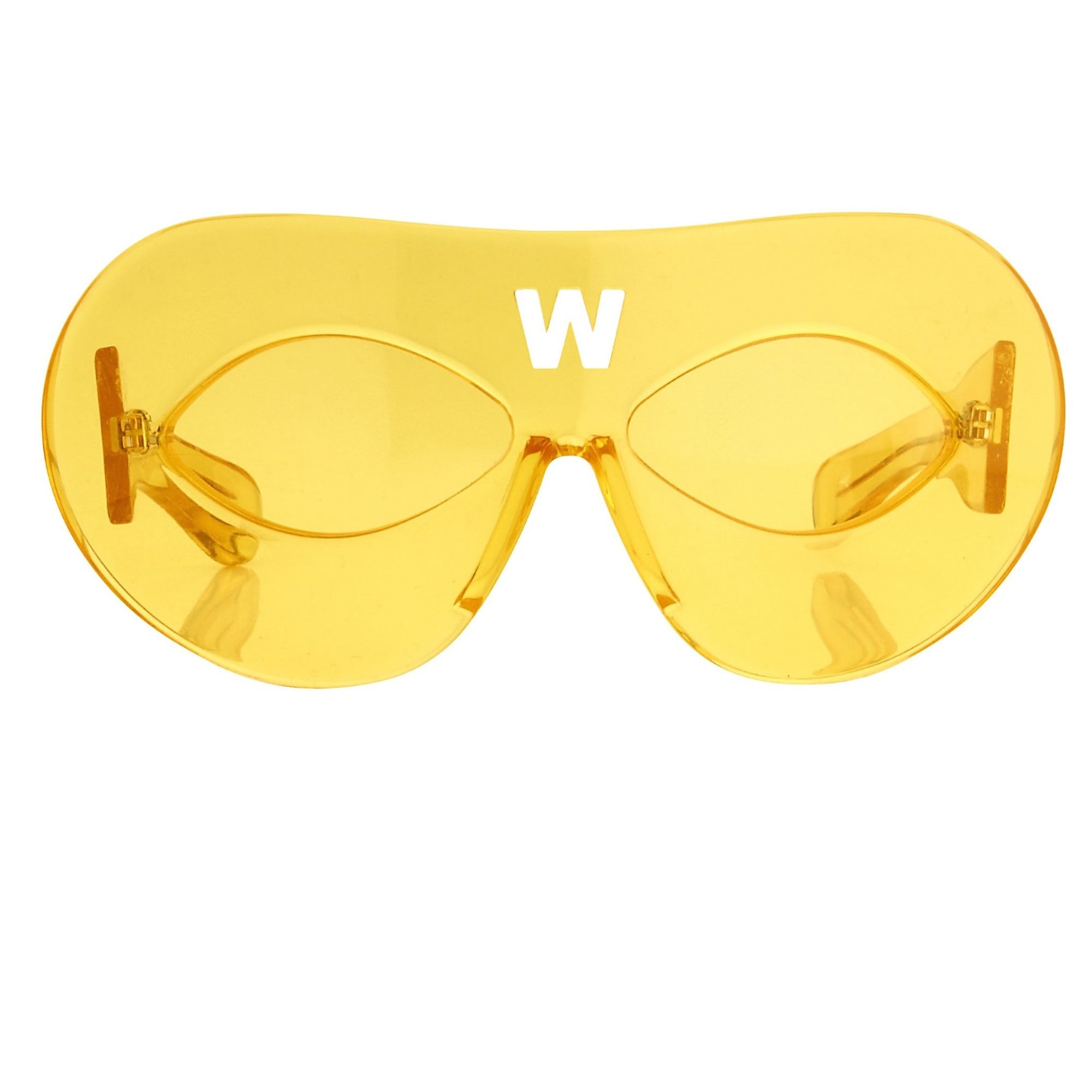 Walter Van Beirendonck Sunglasses Special Frame Yellow and Yellow Lenses - WVB3C3SUN - Watches & Crystals