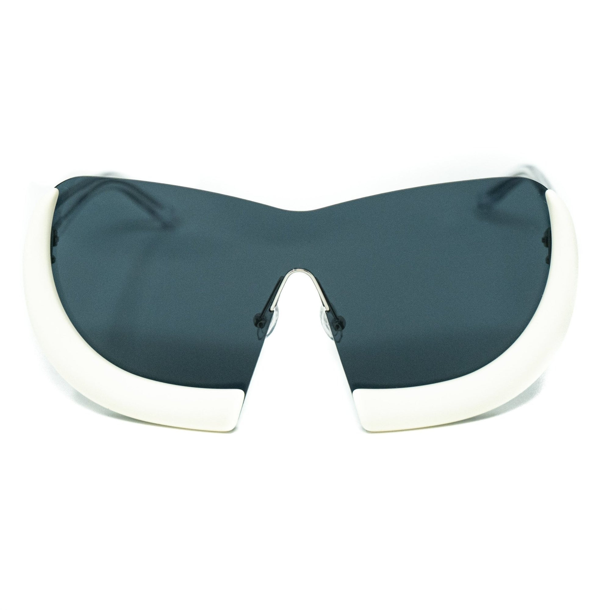 Walter Van Beirendonck Sunglasses Special Shield Frame with Grey Lenses - WVB6C2SUN - Watches & Crystals