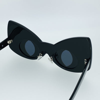 Yaz Bukey Sunglasses Cat Eyes Black & Yellow CAT3 Special Edition YAZ3C1SUN - Watches & Crystals