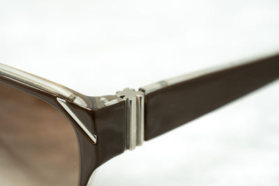 Yohji Yamamoto Unisex Sunglasses Square Brown/Orange and Brown Lenses - YY15C3SUN - Watches & Crystals