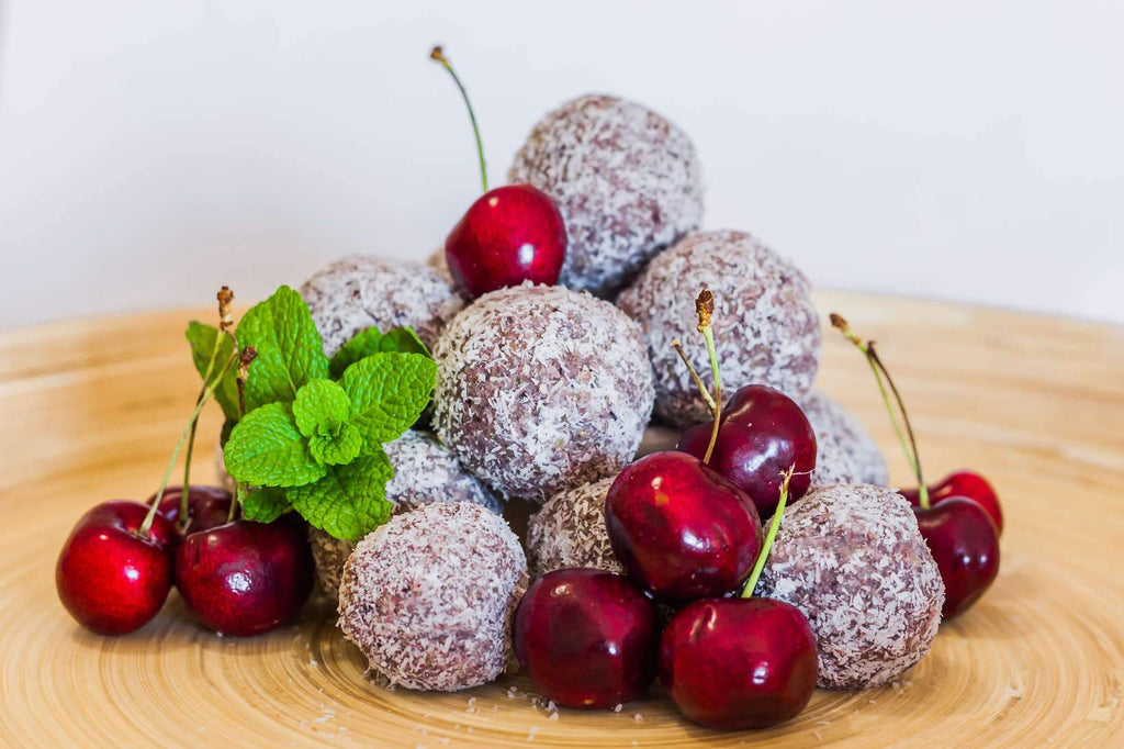Cherry and Quinoa Truffles