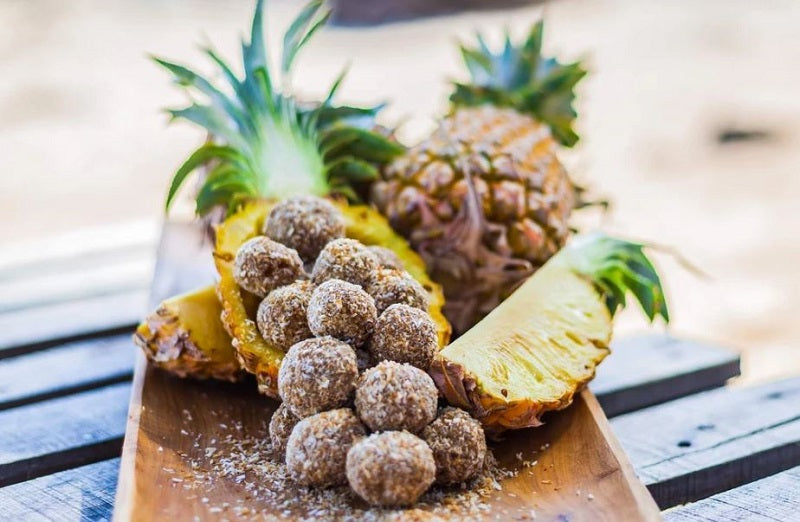 Pineapple Bliss Balls