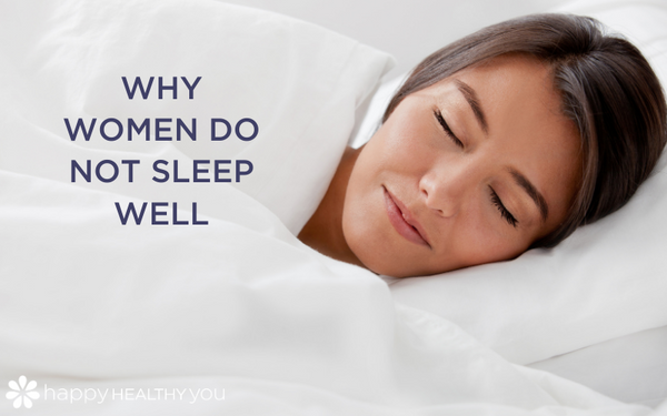 Why women do not SLEEP well
