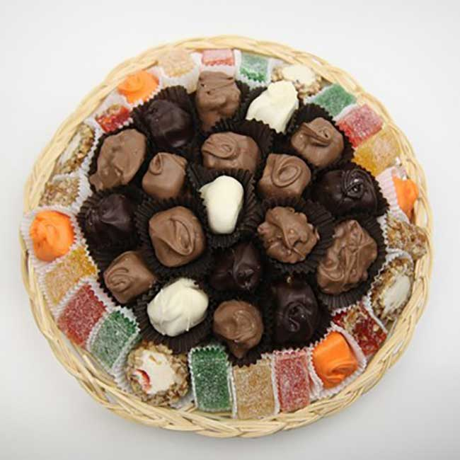 Citrus and Chocolate Basket