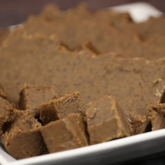 Chocolate Peanut Butter Goat's Milk Fudge