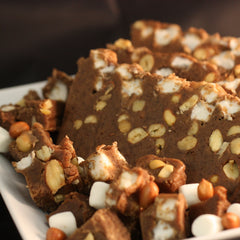 Rocky Road Goat's Milk Fudge