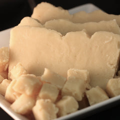 Vanilla Peanut Butter Goat's Milk Fudge