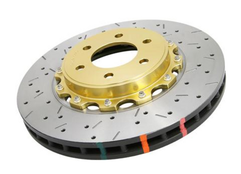 DBA 5000 Series Front Drilled and Slotted Rotor - FR-S/BRZ/86