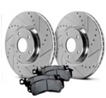 Hawk Performance Sector 27 Front Rotors with PC Pads Kit - FR-S/BRZ/86