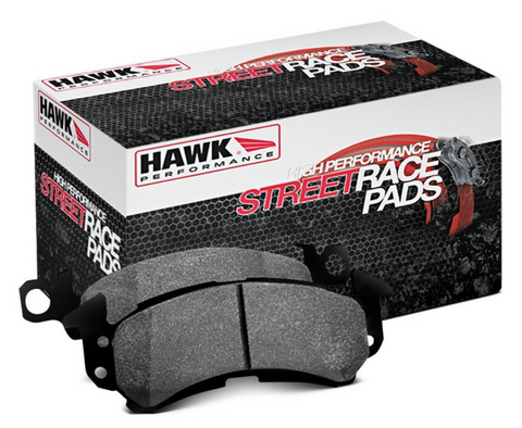 HAWK StreetRace Rear Pad Set - FR-S/BRZ/86