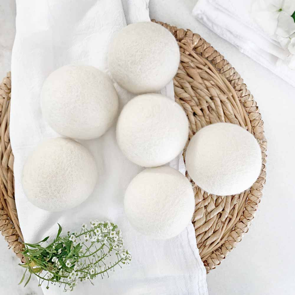 Switch to Dryer Balls for Healthy Eco-Friendly Laundry