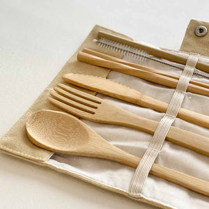 Portable Bamboo Utensil Set
