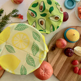 Beeswax Wraps - Lemon