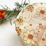 beeswax wrap plastic wrap alternative flowers